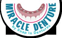 Logo Miracle Dentures